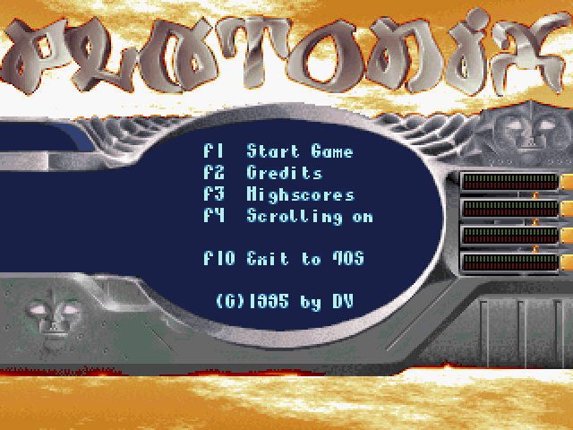 Platonix [Falcon030] atari screenshot